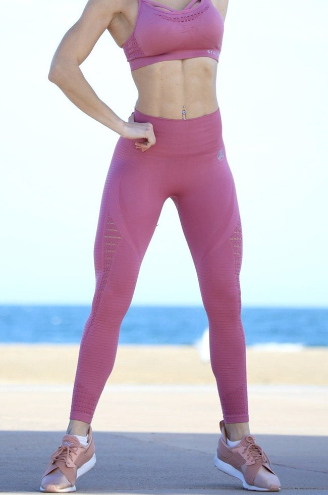 Air Pink Seamless - LEGGINGS