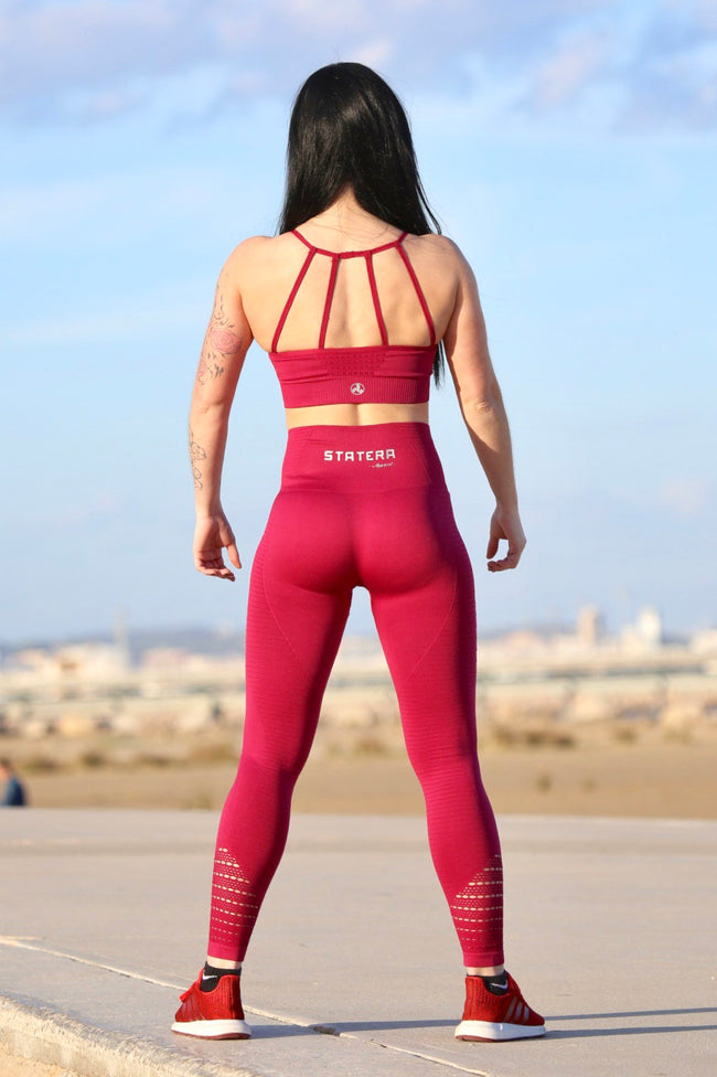 Garnet Seamless - LEGGINGS - Statera Apparel