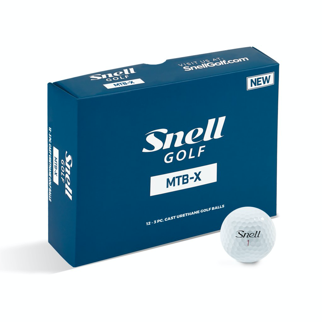 Snell golf balls with Shapland logo