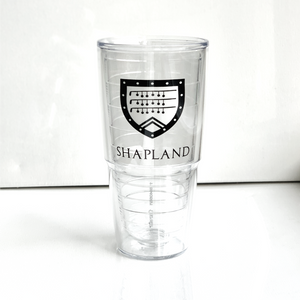 24oz Tervis Tumbler cup with Shapland logo