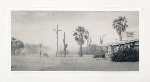Dust Storm, near Saguaro National Park, Arizona
