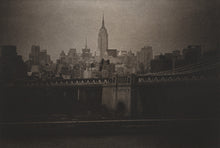 Load image into Gallery viewer, The Empire State Building (from the Brooklyn Bridge)