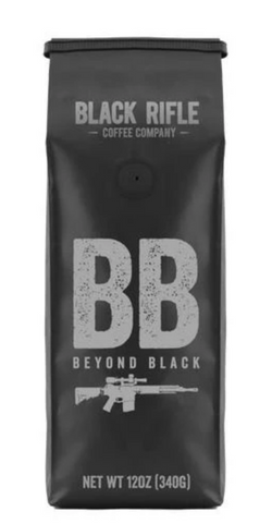 BRCC Beyond Black Coffee Blend - Ground 12 oz bag