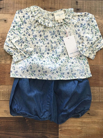 Louis Louise Blouse and jean bloomer