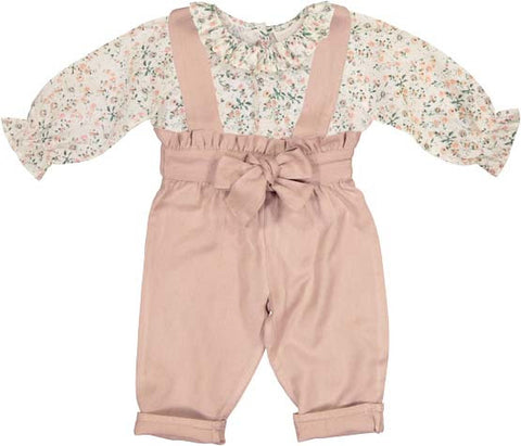 Louis Louise Blouse and Romper