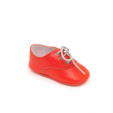 Richelieu Baby shoe & First step | Arthur Orange