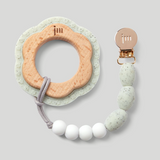 Moonlight Silicone + Wood Teether
