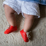 Arthur Orange | Richelieu Baby shoe