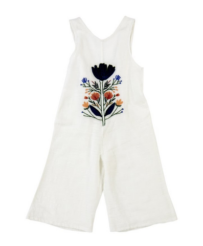 Jumpsuit Lila con bordado