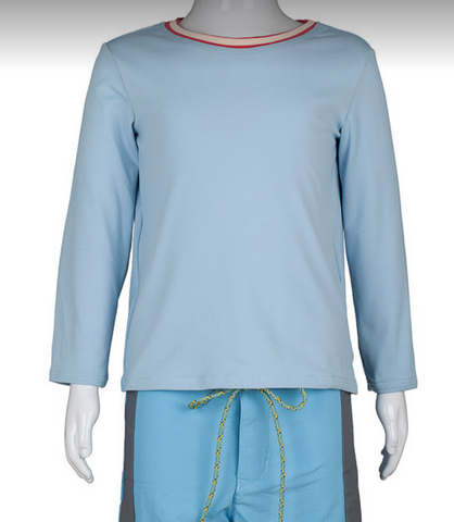 UV Protective T-shirt Light Blue