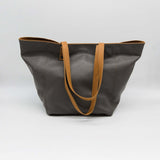 Marseille | Grey leather tote