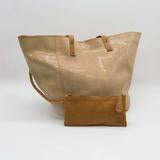 Marseille | Beige leather tote