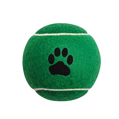 zanies green tennis ball