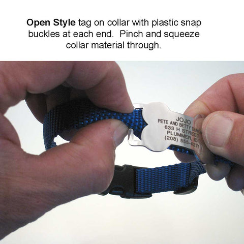 Open style Slide-on Tag