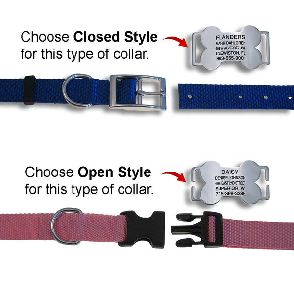 Which style LuckyPet slide-on works for my collar