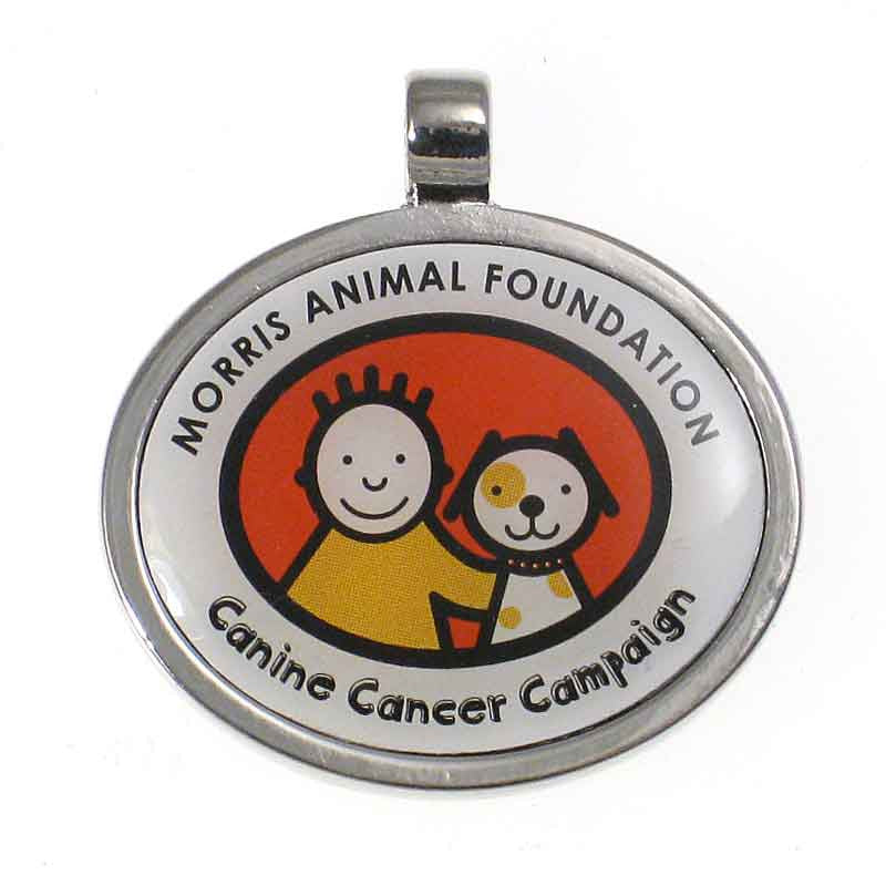 Canine Cancer Campaign Jewelry Dog Tag / Cat Tag