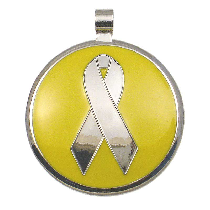 Awareness Ribbon Jewelry Tag,  - Lucky Pet
