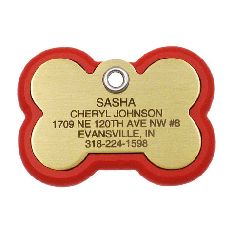 Bone Frame Dog Tag,  - Lucky Pet
