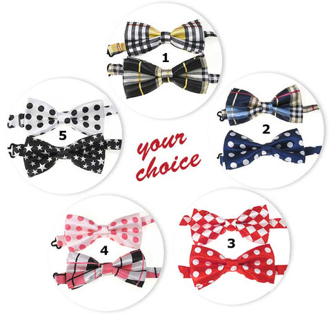 Dress-Up Bow Ties - Set of 2,  - Lucky Pet