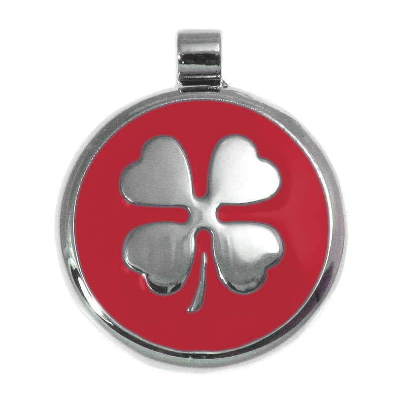 Clover Jewelry Tag - Lucky Pet