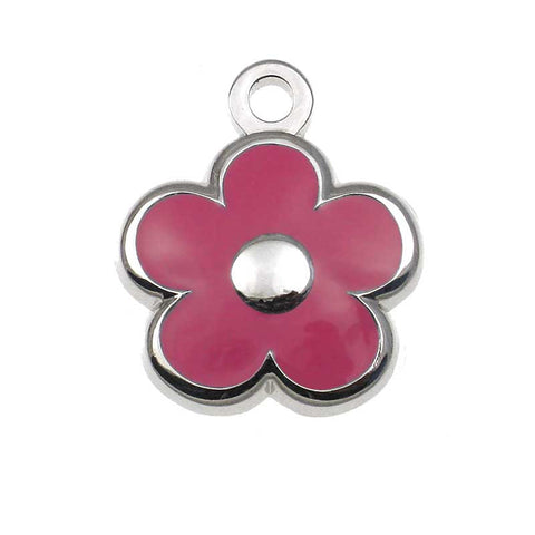 Tiny Flower Shaped Jewelry Tag,  - Lucky Pet