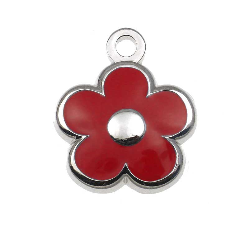 Tiny Flower Jewelry Tag,  - Lucky Pet