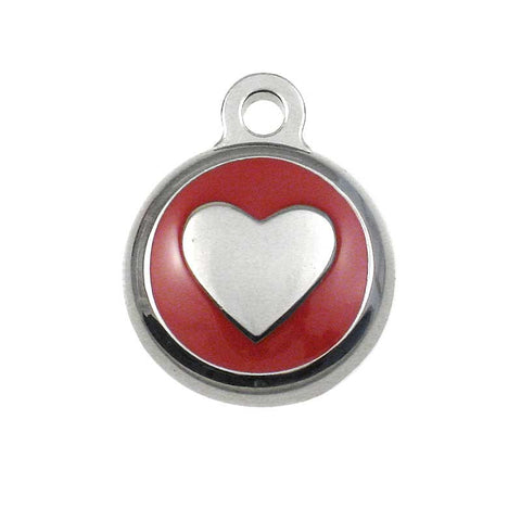 Tiny Heart Jewelry Tag,  - Lucky Pet