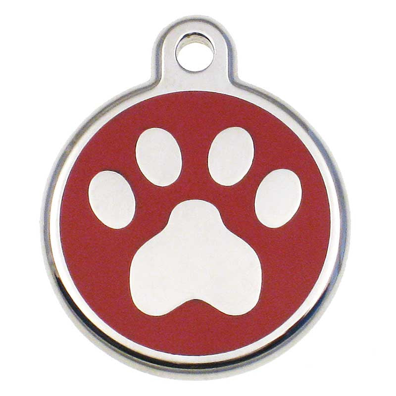 Stainless Paw Jewelry Tag,  - Lucky Pet