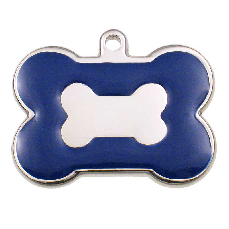 Stainless Bone Shaped Jewelry Tag,  - Lucky Pet