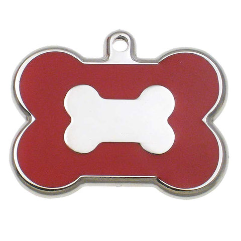 Stainless Bone Jewelry Tag,  - Lucky Pet