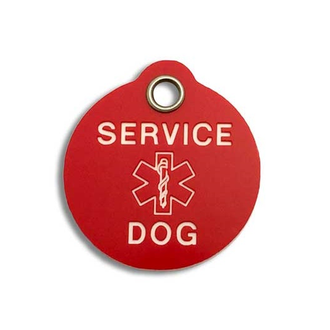 Service Dog Alert Tag,  - Lucky Pet