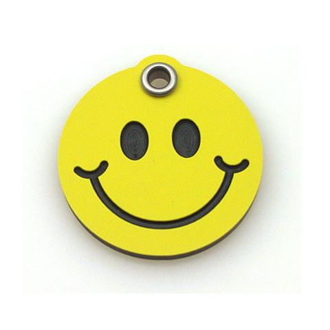 Smiley Face Tag,  - Lucky Pet
