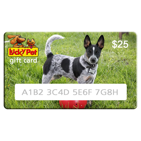 LuckyPet Gift Card,  - Lucky Pet