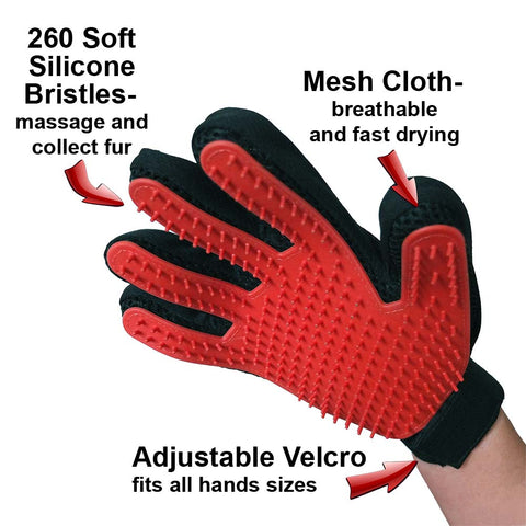 Pet Grooming Glove,  - Lucky Pet