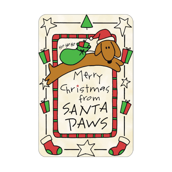Dog Gifts - Edible Cards for Dogs,  - Lucky Pet