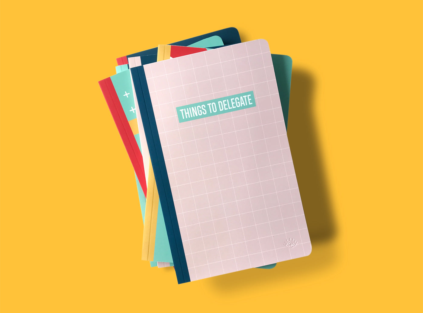Our double-sided notebooks will satisfy the sweet + snarky.  With different messages on the front + back cover, start from either end + flip depending on the mood.