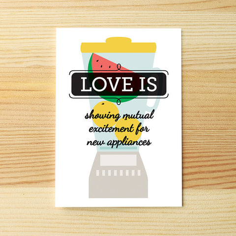 Love is appliances