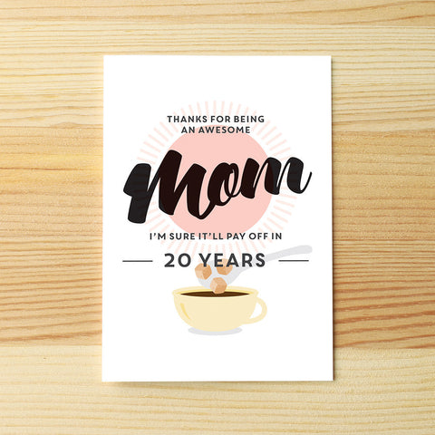 Awesome Mom, 20 years