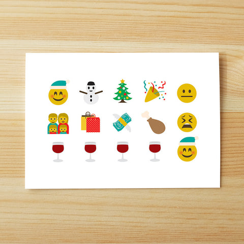 An emoticon Xmas story