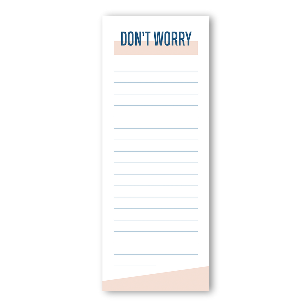 Don't worry notepad