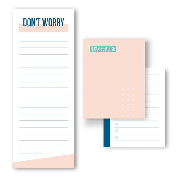 Don't worry, it can be worse notepad trio
