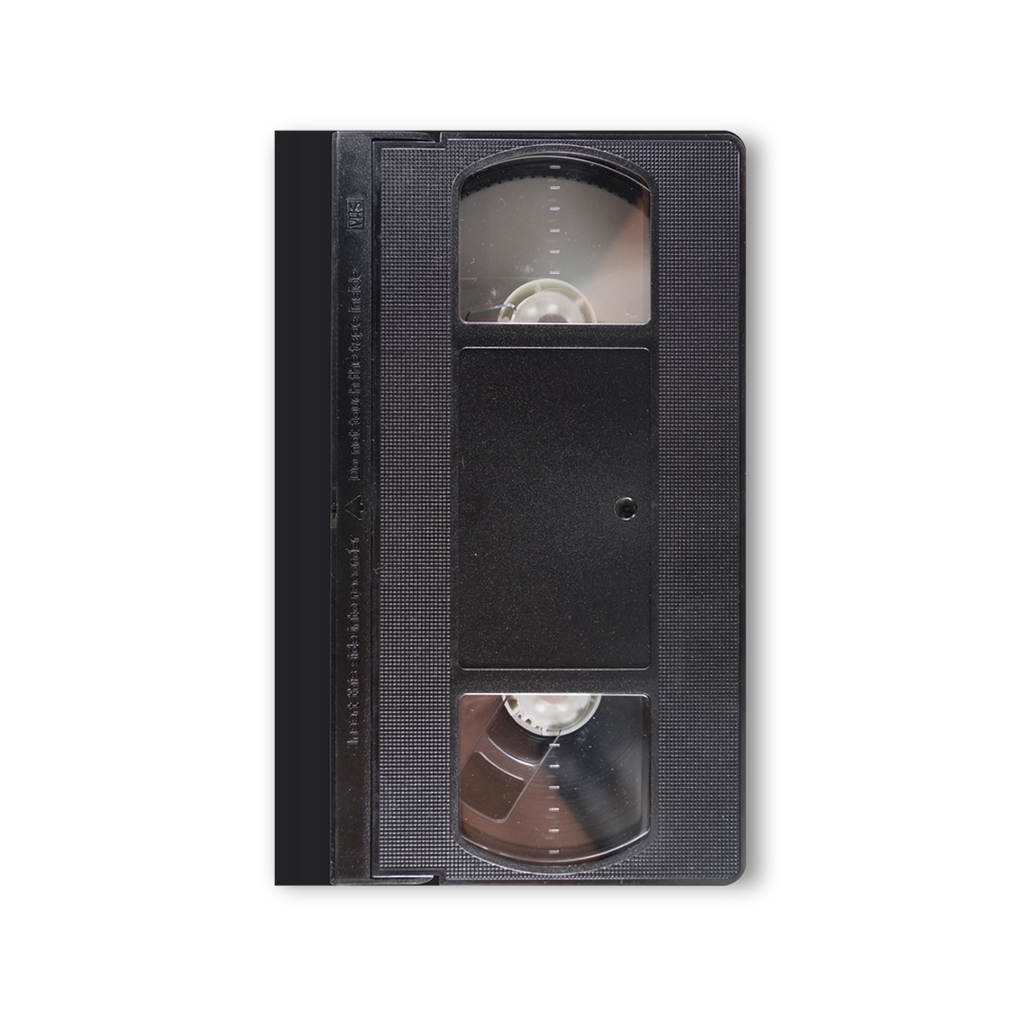 notebook that looks like a real VHS tape