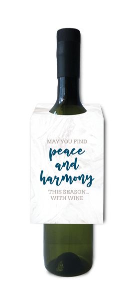 Peace and harmony with wine