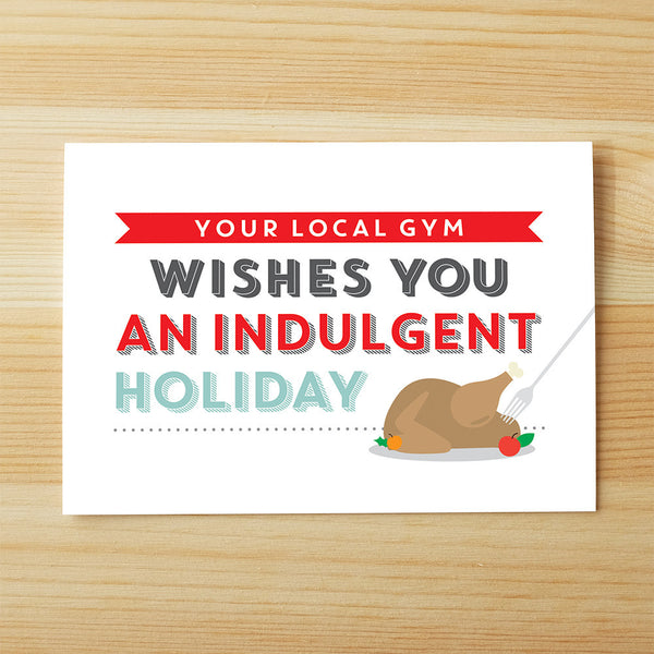 Indulgent holiday