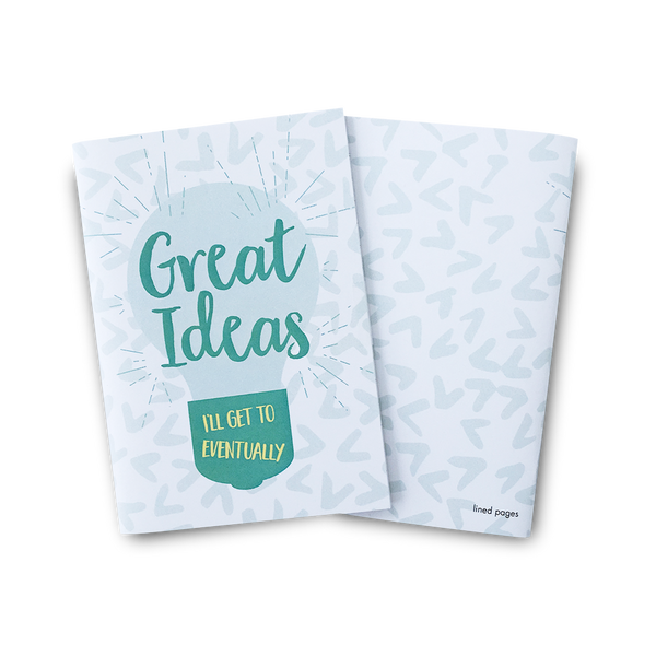 Great ideas I'll get to eventually mini notebook