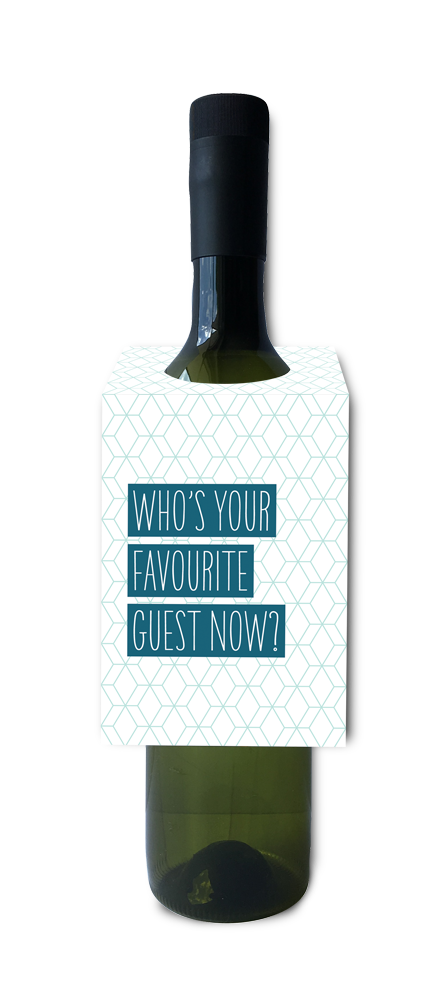 Who's your favourite guest now wine and spirit tag