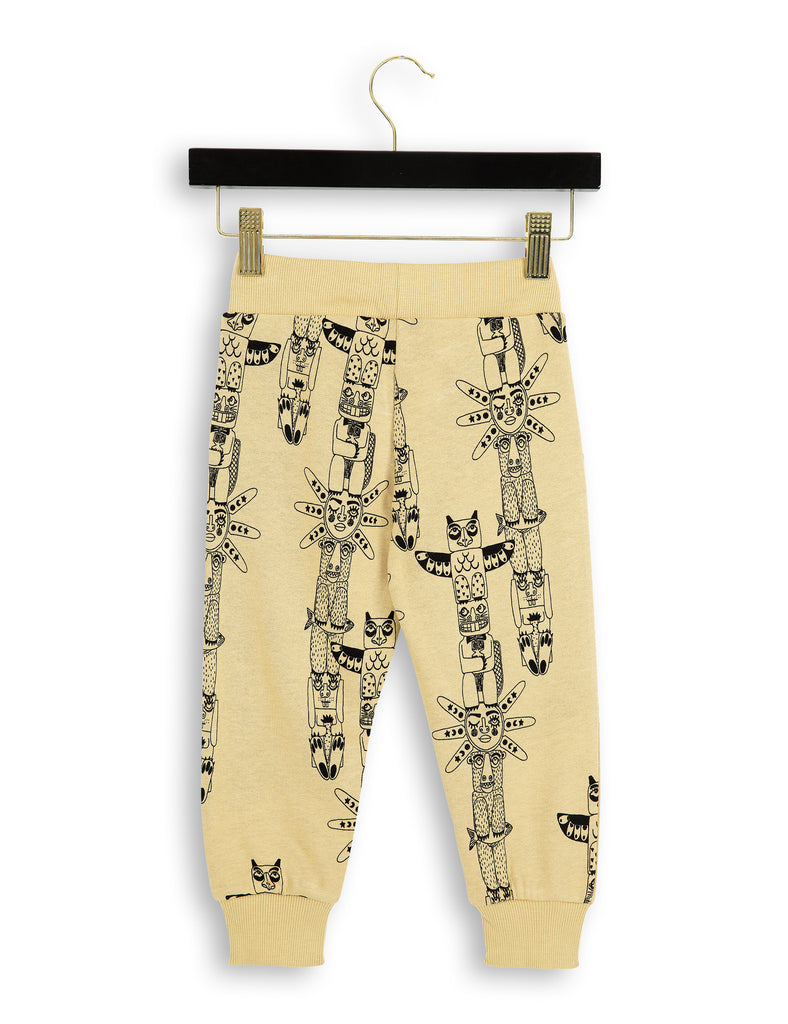 Mini Rodini - beige totem sweatpants