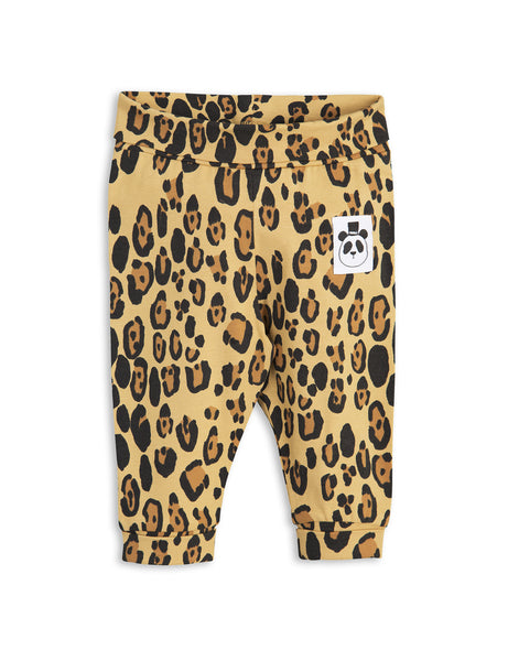 mini rodini - basic leopard newborn leggings