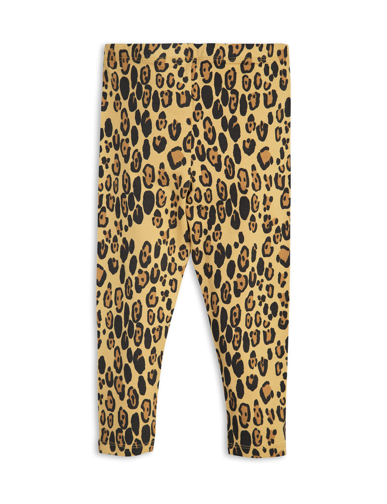 mini rodini - basic leopard leggings