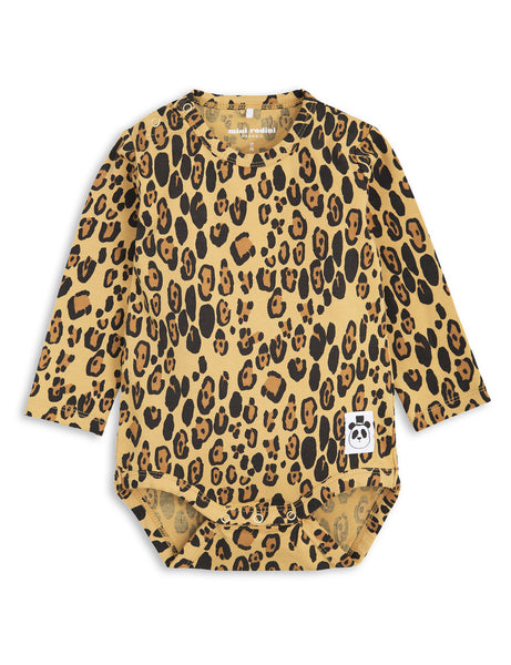 mini rodini - basic leopard long sleeve body
